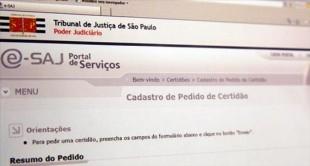 Serviço – TJSP disponibiliza pedido de certidões pela internet