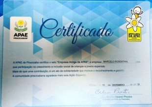 MRAA é certificado como