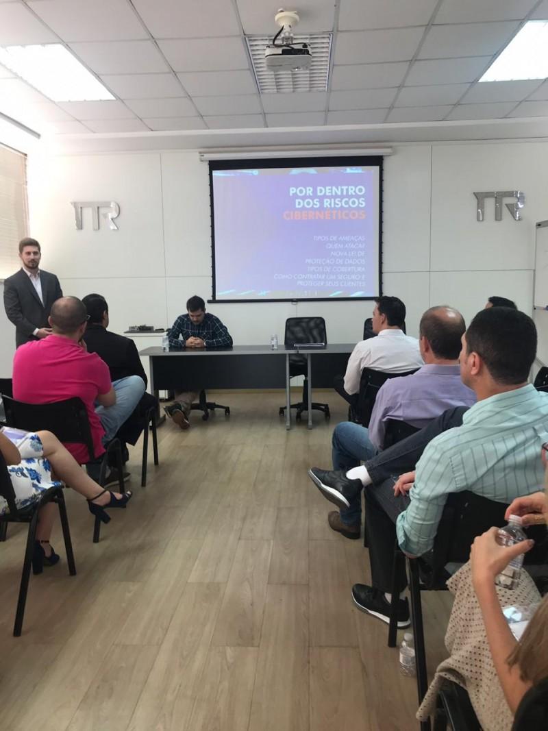Palestra sobre LGPD muito produtiva para participantes